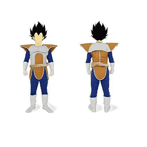 Officially-Licensed Dragon Ball Z Vegeta Costume - Teen/Men's One Size