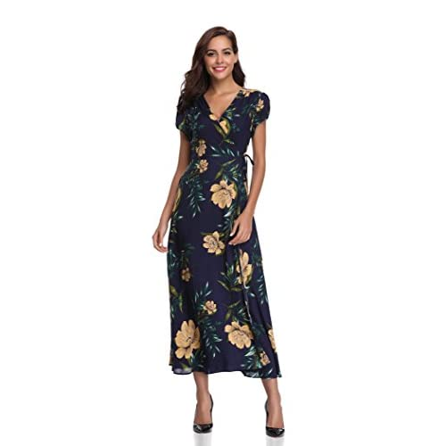2a88823d0af1 ... Wrap Dress. free shipping Floating Time Women's Floral Print ...