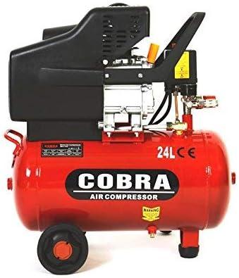 PROGEN COBRA Air Tools 25L Litre Air Compressor 9.5CFM 2.5HP 8 Bar 115PSI