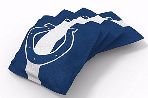 PROLINE 6x6 NFL Indianapolis Colts Cornhole Bean Bags - Stripe Design (A)
