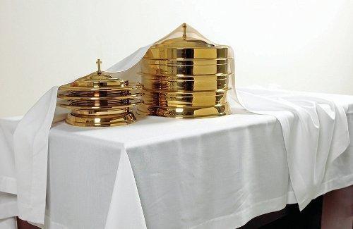 Cover Communion Table Linen - White Linen Communion Table Cover