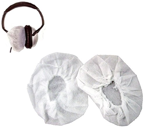 (Pryme P-EM-HYG Replacement disposable ear pad covers for dual or single muff headsets)