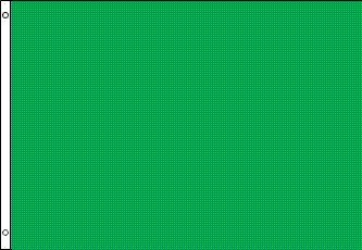 3x5 Green Flag NEW 3 x 5 Solid Green Blank Banner - Nylon Blank Flags