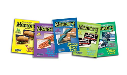 Stages Learning Set of Picture Memory Card Real Photo Concentration Games Memory Game