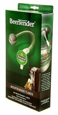 Heineken BT06 BeerTender Tubes, 6-Pack
