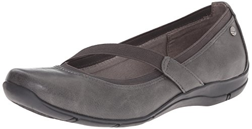 LifeStride Women's Drastic Flat Dark Grey HWPLi