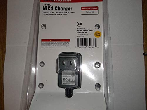 DrillMaster 68420 18V NiCd Battery Charger for Cordless ...