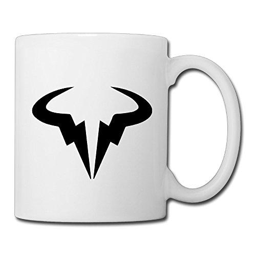 Christina Rafael Nadal Bull Logo Wallpaper Ceramic Coffee Mug Tea Cup - Ceramic Bulls Mug