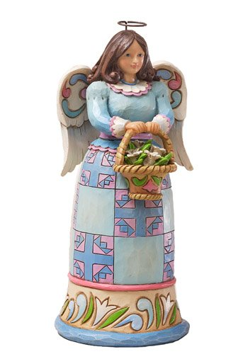 Jim Shore Small Easter Angel Figurine