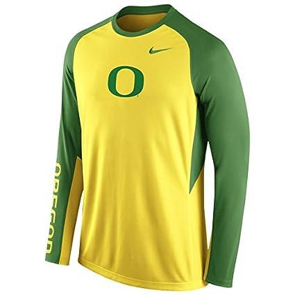 the latest 37987 746f3 Nike Oregon Ducks Dri-Fit Basketball Elite Long Sleeve Shooting Shirt  (Small)