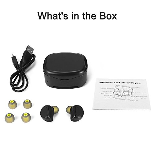 Soundmoov 316T Mini Wireless Earbuds with Charging Box - Black by Soundmoov (Image #7)