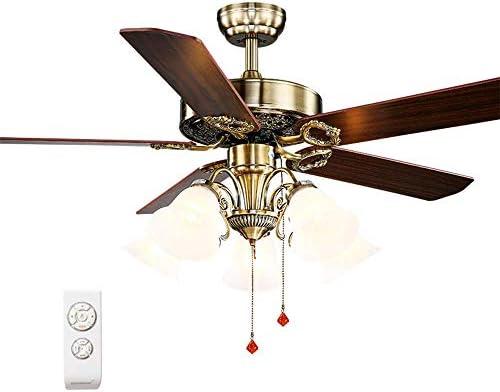 Luz de Ventilador de Techo de 52 Pulgadas, Industria con luz ...