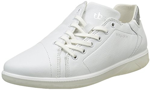 Orrelie Wuofqv Lacées Gris Métallique Chaussures Femme Blanc Tbs xq07IU