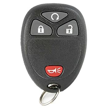 Keyless2Go New Keyless Entry with Remote Start Car Key Fob for Select Vehicles With 15114374 KOBGT04A