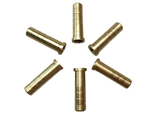 Brass Insert 50Grain for ID.244/6.2mm Arraow Shaft of CrossBow ,24pcs Per Pack