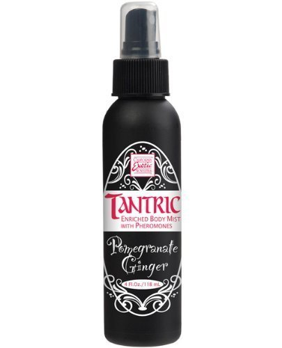 Tantric Body Mist w/Pheromones - Pomegranate Ginger (Arousal Spray)