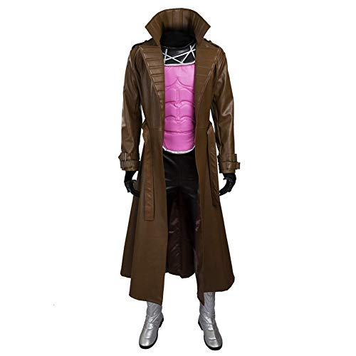 The X-Men Series Gambit Remy Etienne Cosplay Costume Armor Customize Full Set -