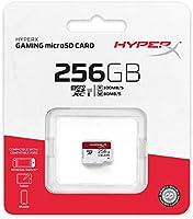 Amazon.com: HyperX HXSDC/256GB microSDXC Gaming 100R/80W U3 ...