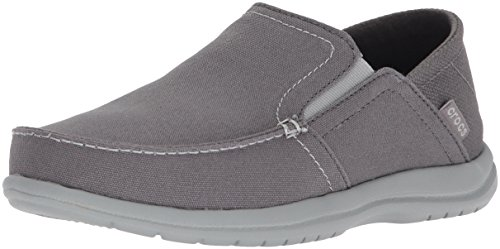 - Crocs Men's Sntcrzcvrtslpm Loafer, Light Slate Grey, 7 M US