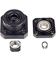 1 Set Hig1 Set High Precision End Supports Bearing Fixed Floated Side End Supports Bh Precision End Supports Bearing Fixed Floated Side End Supports Bearing Housing Mounts for Ball Screw Diameter 10mm