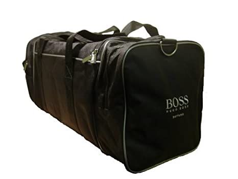 Hugo Boss Black Sports Weekend Travel Gym Duffle Bag Weekender