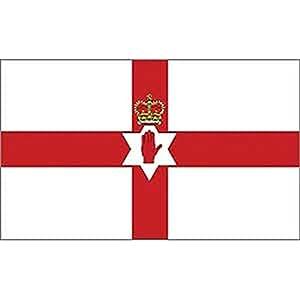"Northern Ireland Flag On Stick 4"" x 6"""