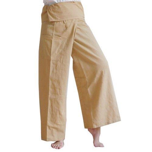 Thai Fisherman Pants Yoga Trousers Free Size Plus