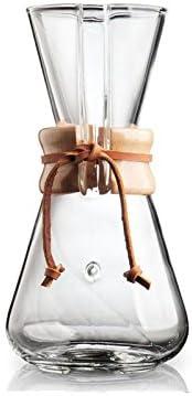 Chemex Cafetera – Juego de jarra para 1 A 3 tazas (450 ml) con 250 ...
