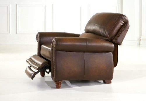 (Parker Leather Recliner by Leather Italia USA)