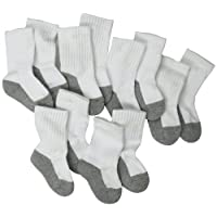 Jefferies Socks, Llc Unisex-baby Newborn 6 Pack Seamless Sport Half Cushion C...