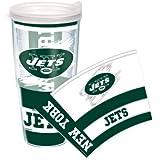 Wrap NFL Ny Jets  Lclr 24-Ounce Each