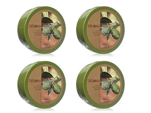 DELON Olive Body Butter & Body Wash 5 PC Skin Care Set