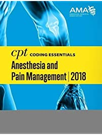 Amazon medical coding billing books cpt coding essentials for anesthesiology and pain management 2018 fandeluxe Images