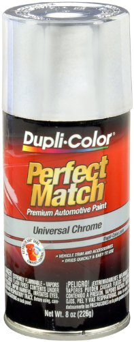 Dupli-Color EBUN02007 Universal Chrome Perfect Match Automotive Paint - 8 oz. ()