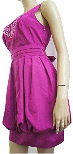 Sixth SenceDamen Kleid, Einfarbig Rosa Pink