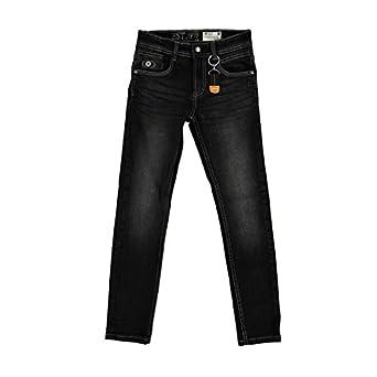Lemmi Skinny Fit Jeans Boy Ken 310 - Black - 9 Years