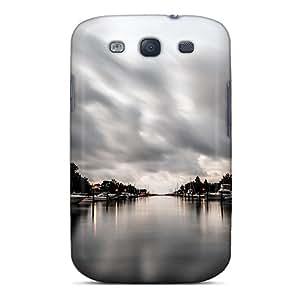 New Tpu Hard Case Premium Galaxy S3 Skin Case Cover(resting Boats)