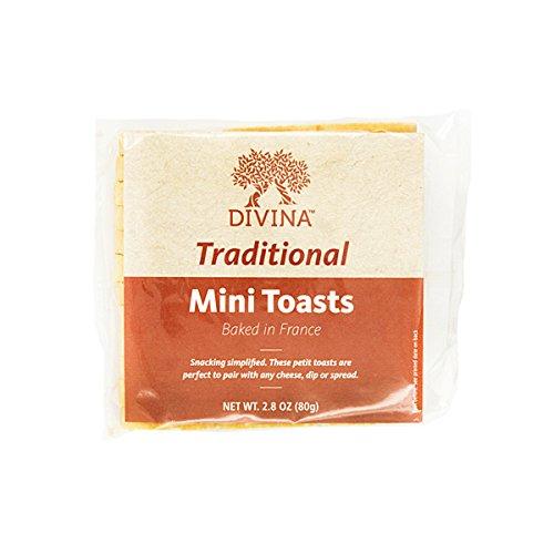 Toast Snack - Divina Mini Toasts, 2.75 oz.