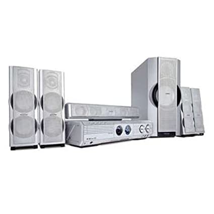 a4600273e Amazon.com  Philips MX5500D 500 Watt 5-DVD CD Home Theater System with  Memory Card Slot (Discontinued by Manufacturer)  Home Audio   Theater