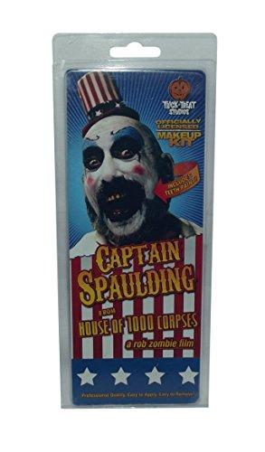 Captain Spaulding Hat (Trick or Treat Studios Men's House Of 1 000 Corpes-Captain Spaulding Makeup Kit, Multi, One Size)