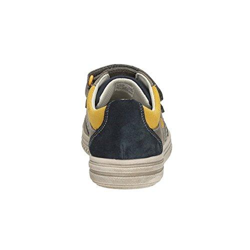 Clarks Chad Skate Jnr - zapatilla deportiva de cuero niño Navy Combi