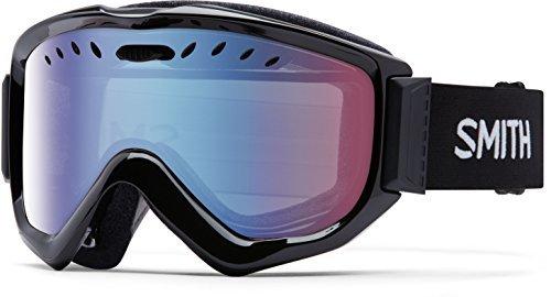 Smith Optics Adult Knowledge OTG Snow Goggles Black Frame/Blue Sensor Mirror