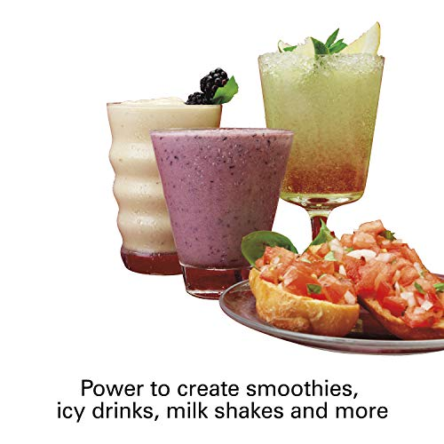 Hamilton Beach (58148A)Blender with Glass Jar, For Shakes & Smoothies, Multi function, Electric (58148A) by Hamilton Beach (Image #5)