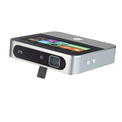 ZTE Spro 2 Smart Projector, Wi-Fi Enabled - Silver (Renewed)