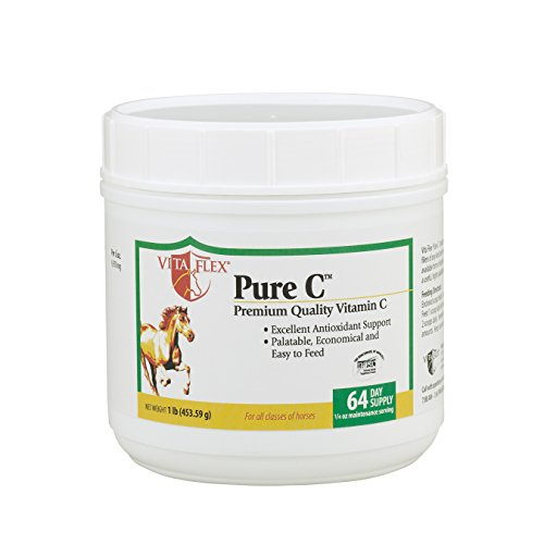 Vita Flex Pure C Premium Quality Vitamin C, 64 Day Supply, 4 - Flex Equine Vita