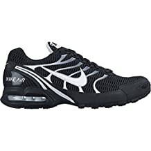 Nike Women's Air Max Torch 4 Running Shoes-Black/White-Silver-9