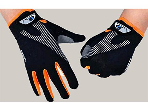 Zehaer BBQ Cycling Motorcycle Gloves Ice Lycra Breathable Gloves Silicone Non-Slip Full Finger Outdoor Sports Gloves for Women Men(S) for ()