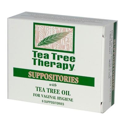 Tea Tree Therapy Suppository - 6 per pack - 3 packs per case. by Tea Tree Therapy