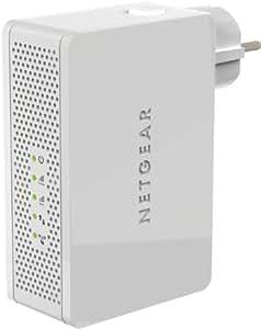 Netgear WN3500RP-100PES - Extensor universal de señal compatible con Apple Air-Play (WiFi N600 Dual Band, 2.4 GHz y 5 GHz)