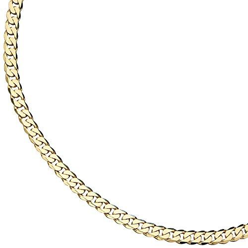 0,7mm-Bracelet Gourmette Bracelet en or jaune 33319cm